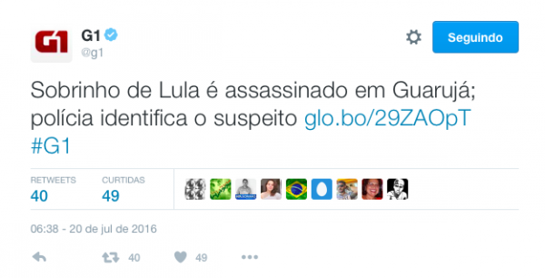 sobrinho lula assassinado guarujá