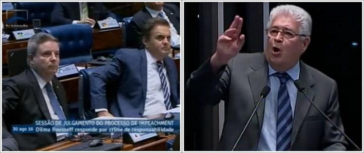 Aécio Neves Roberto Requião Tancredo impeachment canalhas
