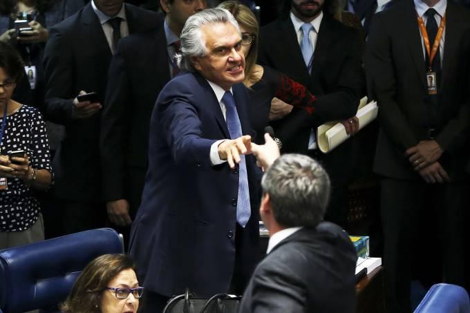ronaldo caiado lindbergh farias senado