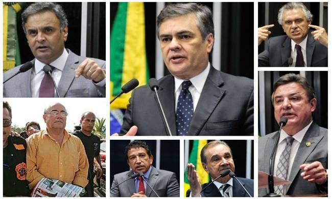 senadores impeachment dilma ficha corrida