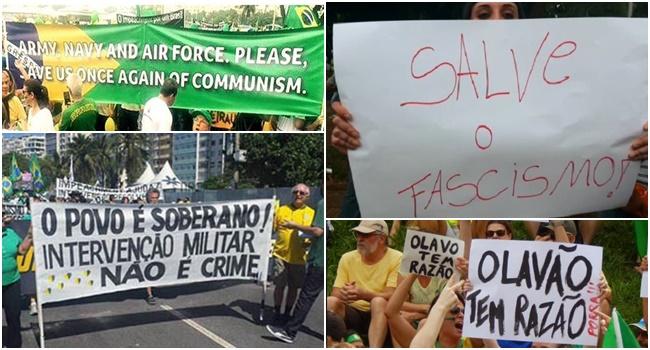 fascismo ódio direita brasil idiota
