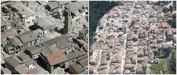 terremoto tragédia itália