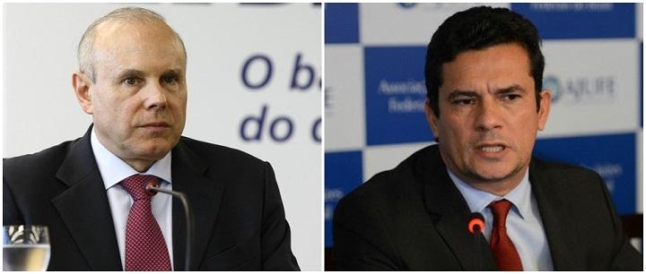 Guido Mantega e Sergio Moro