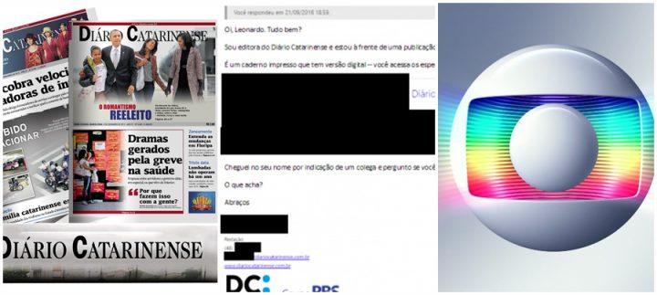 jornal globo convite diario catarinense