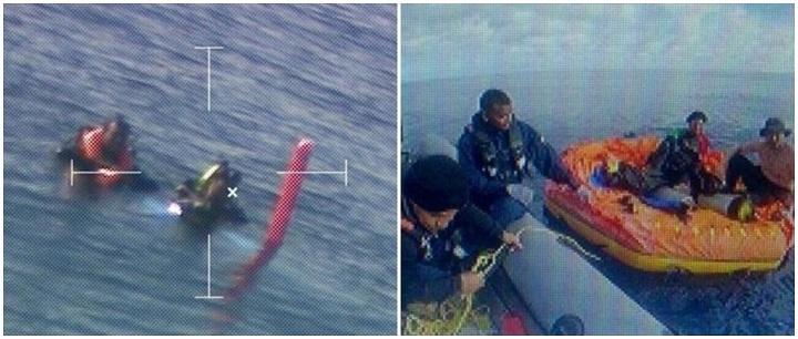 mergulhadores colombia alto mar tubarões