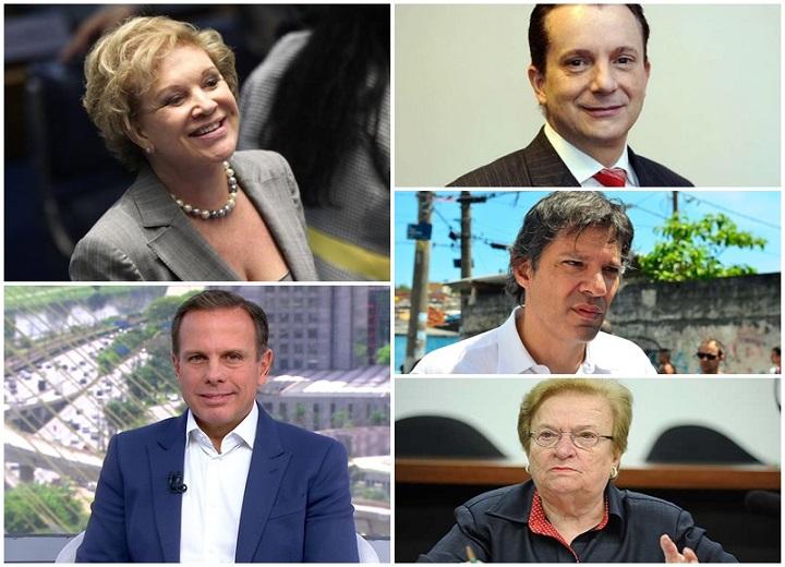 pesquisa eleitoral prefeitura São Paulo