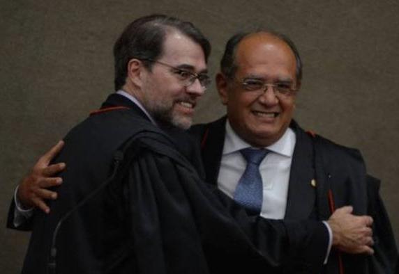 Lula Dias Toffoli e Gilmar Mendes
