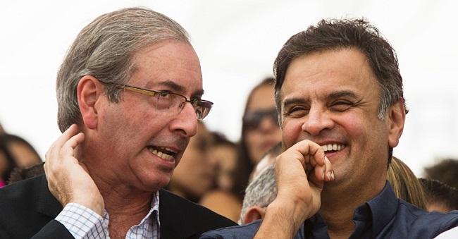 Eduardo Cunha Aécio Neves prisão