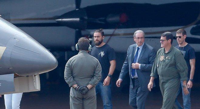 Resultado de imagem para Eduardo Cunha/prisão