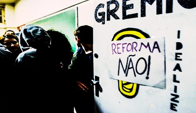 ocupações escolas reforma ensino médio