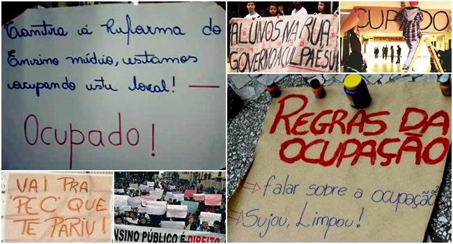 ocupações estudantes paraná gazeta do povo