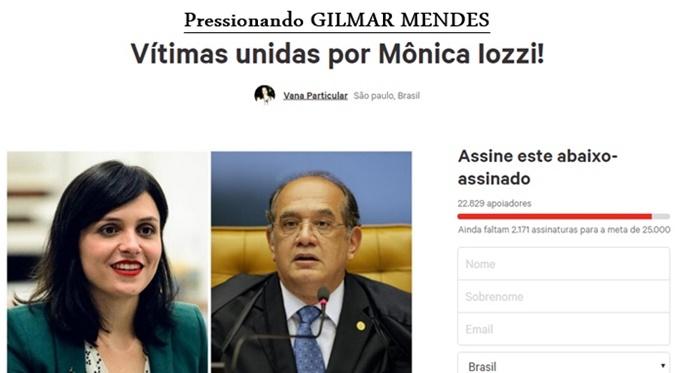 vitimas Abdelmassih abaixo assinado gilmar monica iozzi