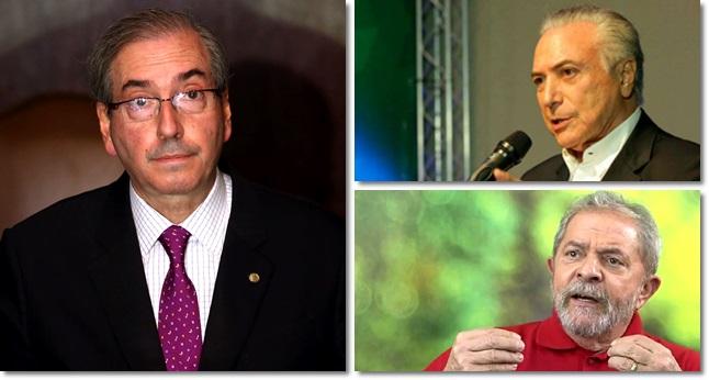 Eduardo Cunha temer lula testemunha defesa