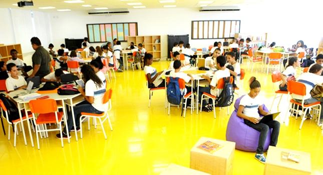 escola rocinha ensino inovador rio de janeiro