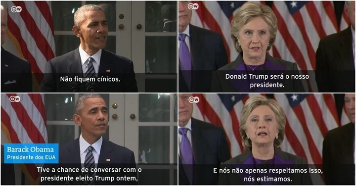 Hillary Obama Donald Trump