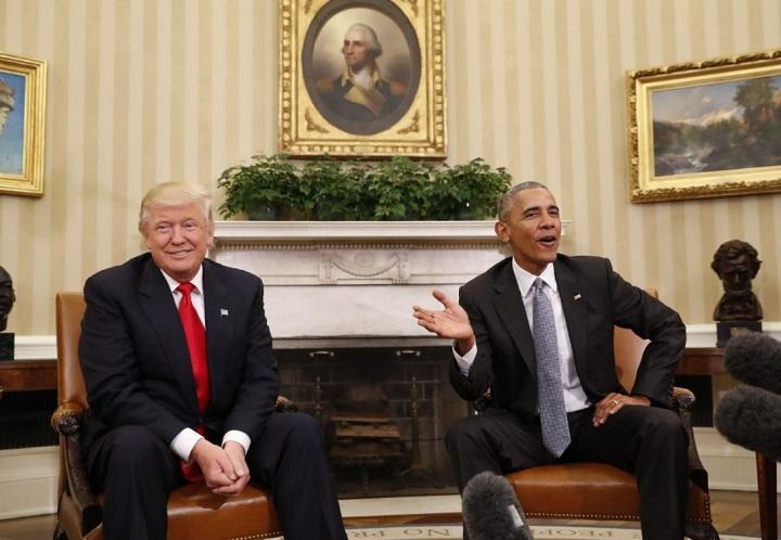 Barack Obama Donald Trump