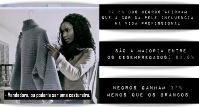 campanha racismo paraná negros trabalho