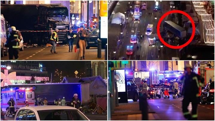 Caminhão Berlim Alemanha terrorismo