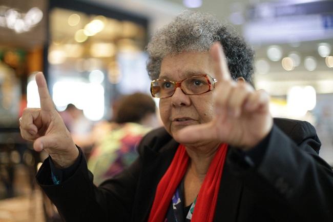 Adélia Sampaio cineasta negra