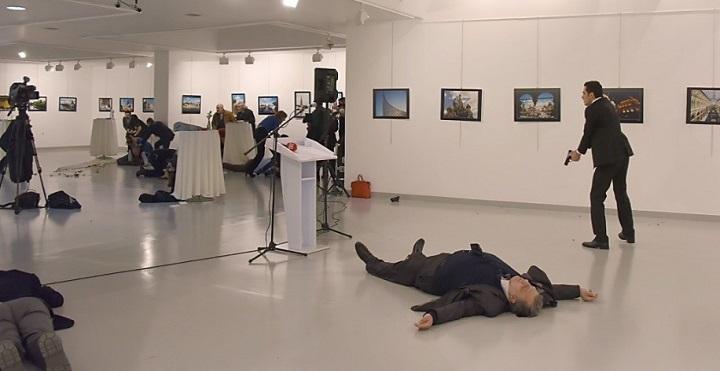 Resultado de imagem para atentado turquia embaixador