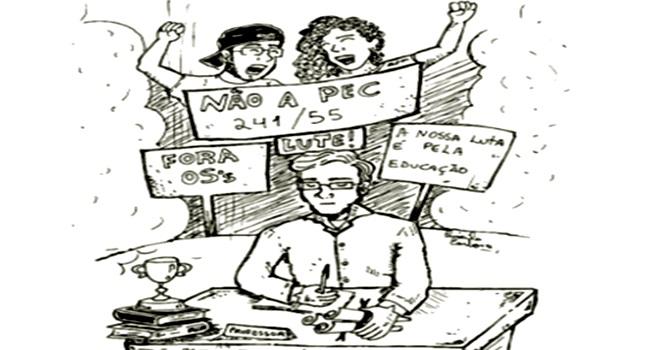 estudantes lutam apesar professores governo pec ocupações