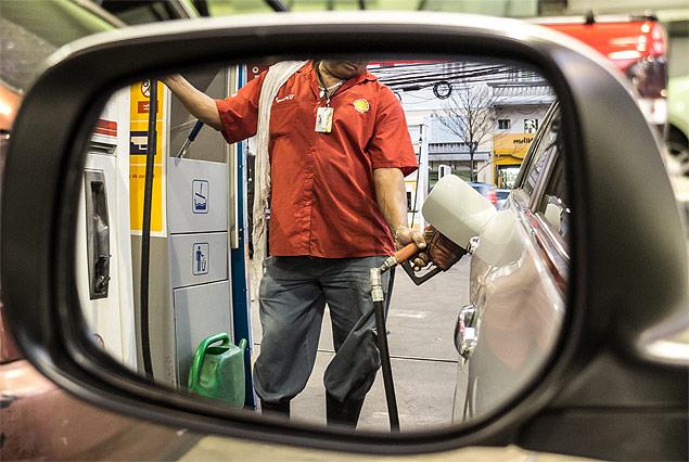 preço da gasolina aumenta combustível
