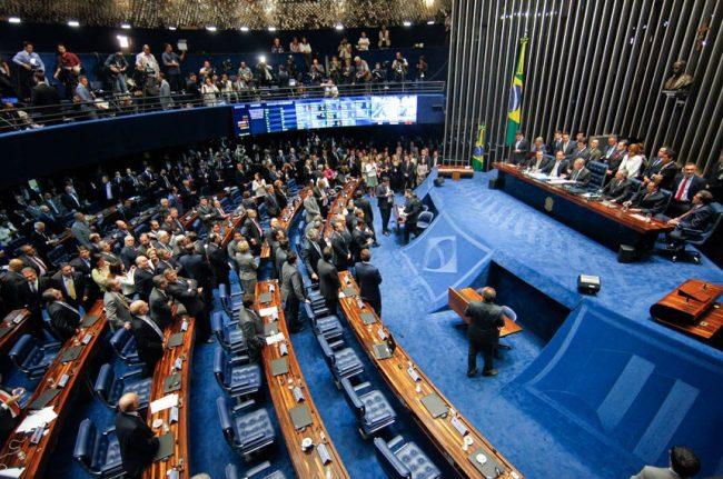 pec 55 aprovada voto senador