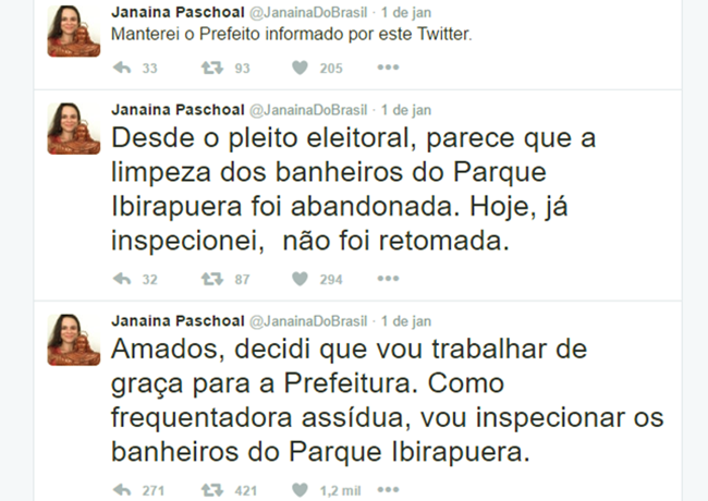 janaina paschoal inspetora banheiros prefeitura joão dória psdb são paulo
