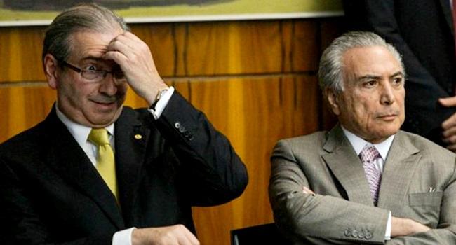 Eduardo Cunha desmente Michel Temer lava jato sérgio moro