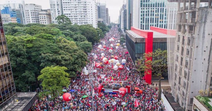avenida paulista manifestação 15 03