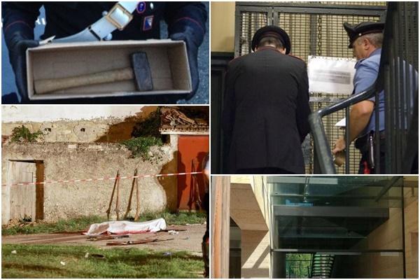 pai mata filhos martelo itália