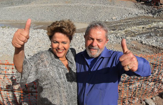 Lula Dilma Monteiro PB transposição