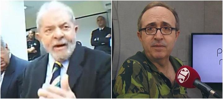 Lula Reinaldo Azevedo depoimento