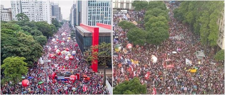 manifestações fora temer brasil parou