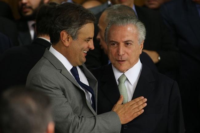 Michel Temer Aécio TSE cassação PSDB