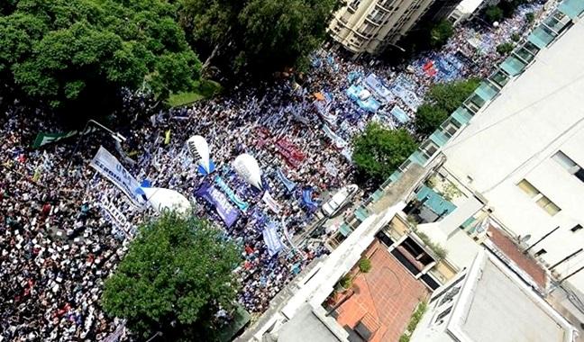milhares ruas argentina melhorias educação protestos macri