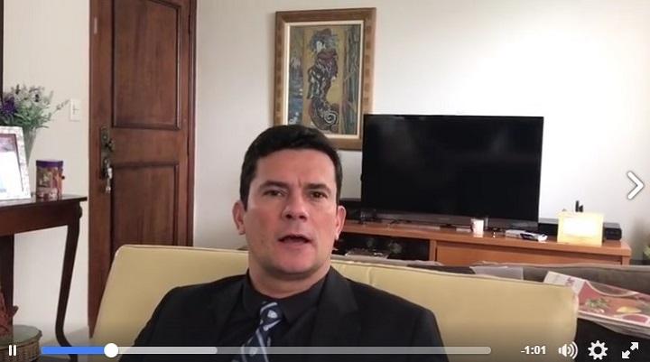 sergio moro grava vídeo unanimidade