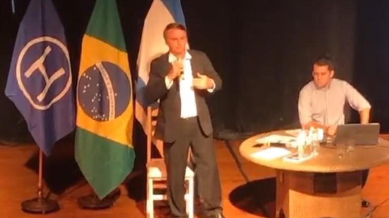 Bolsonaro Hebraica quilombos indígenas negros