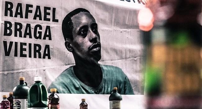 Caso Rafael Braga Vieira preso manifestação junho 2013