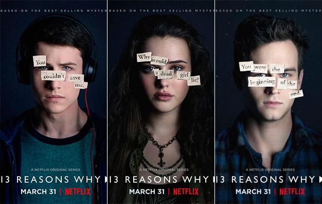 série 13 reasons why razões porquês
