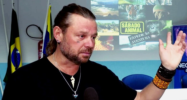 Richard Rasmussen acusado matar boto animal rede globo fantástico governo meio ambiente