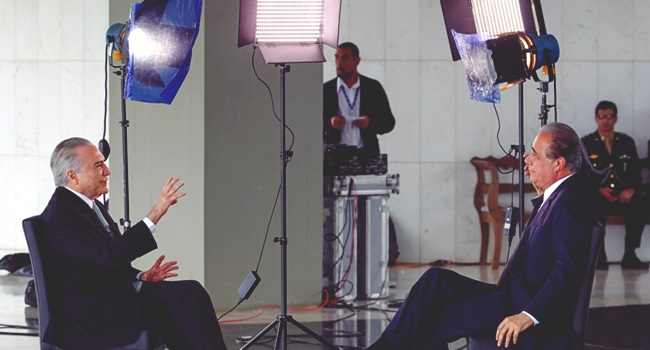 brasil rede globo mídia desonesta temer interesse