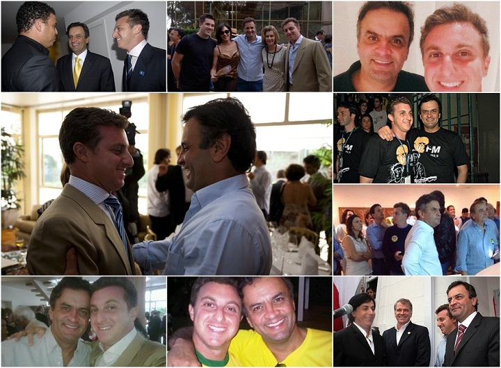 luciano huck aécio neves