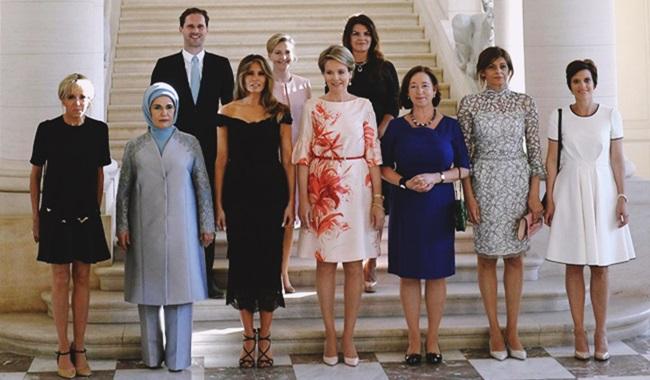 marido premier luxemburgo primeiras damas