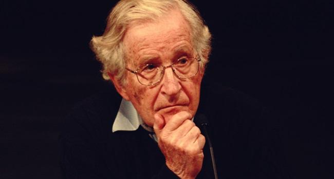 Noam Chomsky eua país perigoso mundo