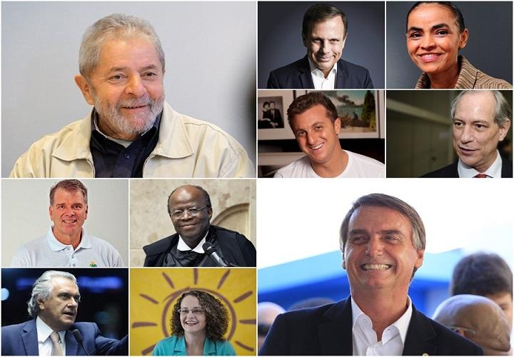 Lula lidera pesquisa presidente 2018
