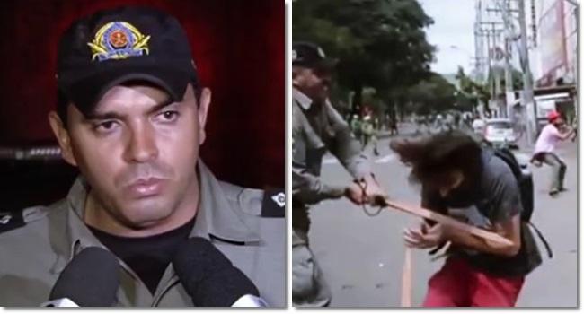 policial estudante grave goiás medalhas governo