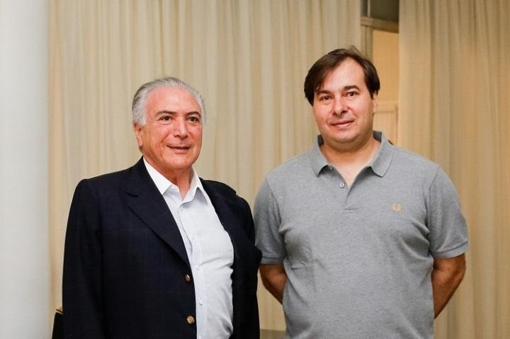 Michel Temer Rodrigo Maia eleições