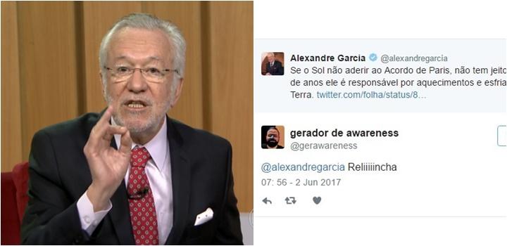 Alexandre Garcia aquecimento global
