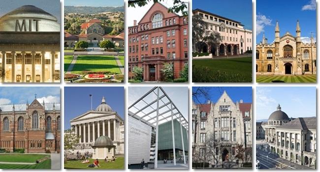 ranking melhores universidade mundo 2017 educação